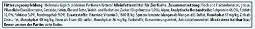 Tetra Pro Colour Premiumfutter (für alle tropischen Zierfische, Farbkonzentrat für hervorragende natürliche Farbausprägung, Vitaminstabilität, hoher Gehalt an Carotinoiden), 500 ml Dose - 6